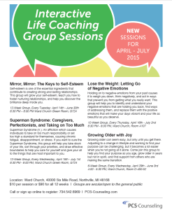 Click Here to See Our Spring 2015 Group Offerings Flier